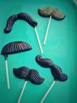 Dark Chocolate Mustaches
